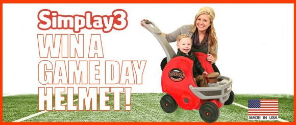 Simplay3 Game Day Push About Football Helmet Giveaway