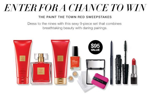 Avon Paint The Town Red Sweepstakes