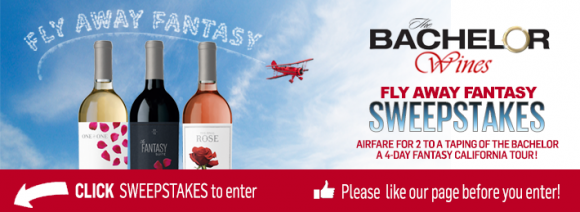 Bachelor Wines Final Rose Flyaway Fantasy Sweepstakes