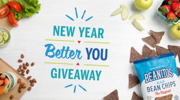 Beanitos New Year, Better You Sweepstakes