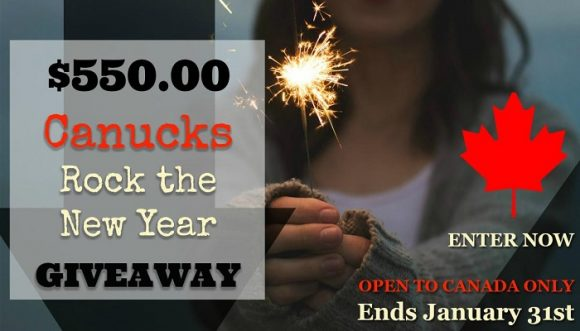 Canucks Rock The New Year Cash Giveaway