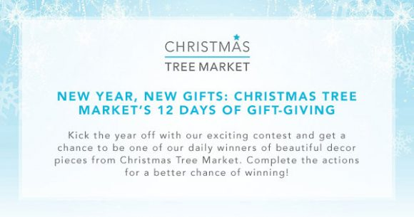 Christmas Tree Market's 12 Days of Gift-Giving