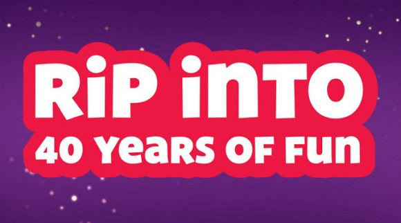 Celebrate 40 years of fun with Chuck E. Cheese's and win awesome prizes - like a $5,000 VIP trip for 4 to Skylanders Studio and more!