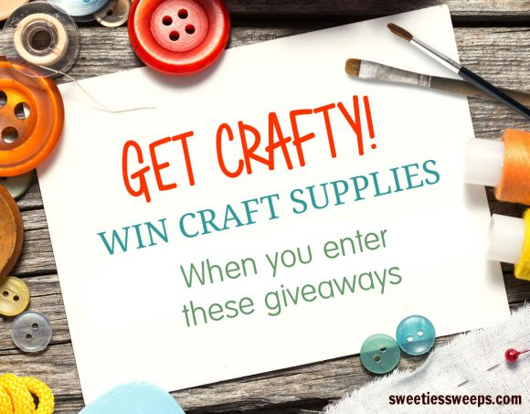 Sweeties January Crafts Giveaways