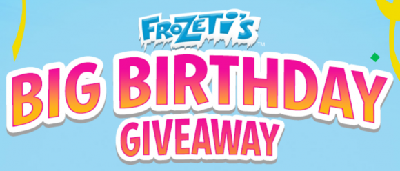 Dippin' Dots Frozeti's Big Birthday Giveaway