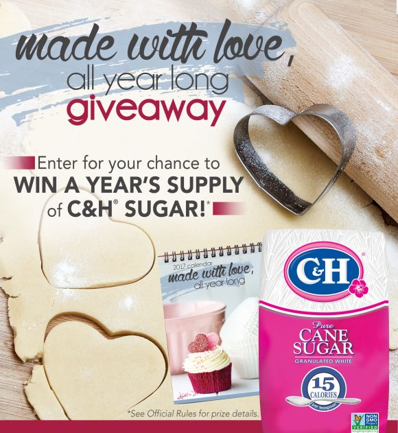 C&H Sugar/Domino Free Wall Calendar and Giveaway