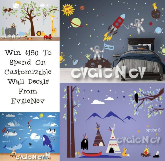 EvgieNev $150 Wall Deals Giveaway