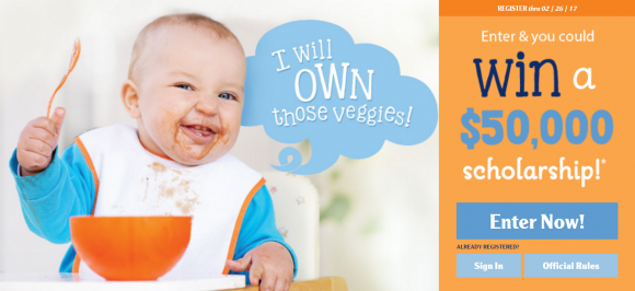 MyGerber Goals Instant Win Game Sweepstakes