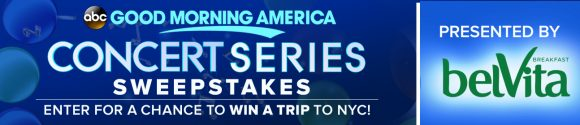 Good Morning America's 2017 GMA Concert Series Sweepstakes