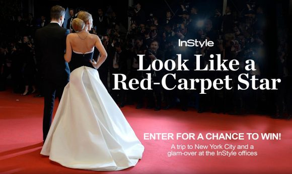 Enter for your chance to win a trip to New York City for a glam makeover at the Instyle Magazine offices, a $1,000 gift card to Saks, plus lots more