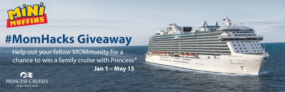 Submit your Mom Hacks with Little Debbie here for a chance to win a $5,000 Princess Cruises gift card! Share what makes your day just a little bit easier by sharing your everyday Mom Hacks for a chance to win! Monthly Prizes Include: Spa gifts valued at $200 each!