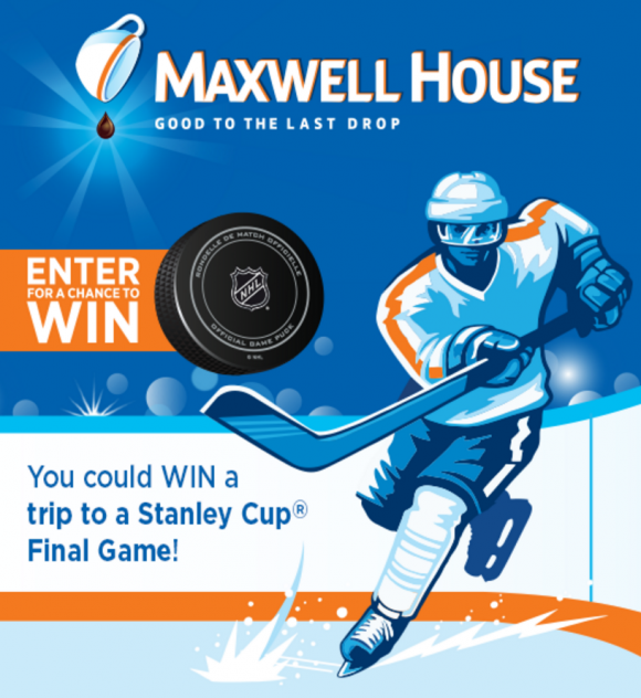 Maxwell House Ultimate Hockey Fan Sweepstakes