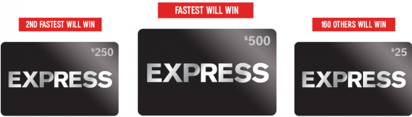 Quikly Express Gift Card Giveaway