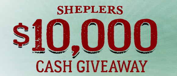 Shepler's is giving away $10,000 in cash