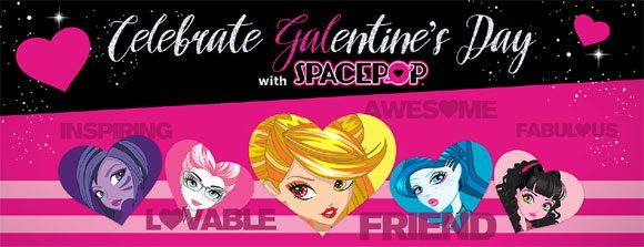 Spacepop $500 Galentine's Day Giveaway