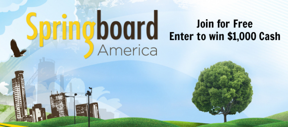 Join Springboard America for Free Enter to win $1,000 Cash