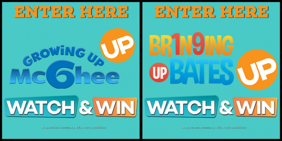 UP TV's Watch and Win Sweepstakes Keywords