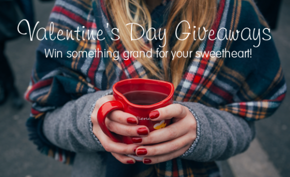 Enter to Win Sweet Romantic Prizes with these Valentine's Day Giveaways and Sweepstakes
