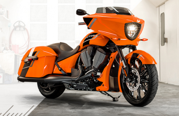 Enter for your chance to win a New MY17 VICTORY MAGNUM motorcycle so you can be the envy of the road.