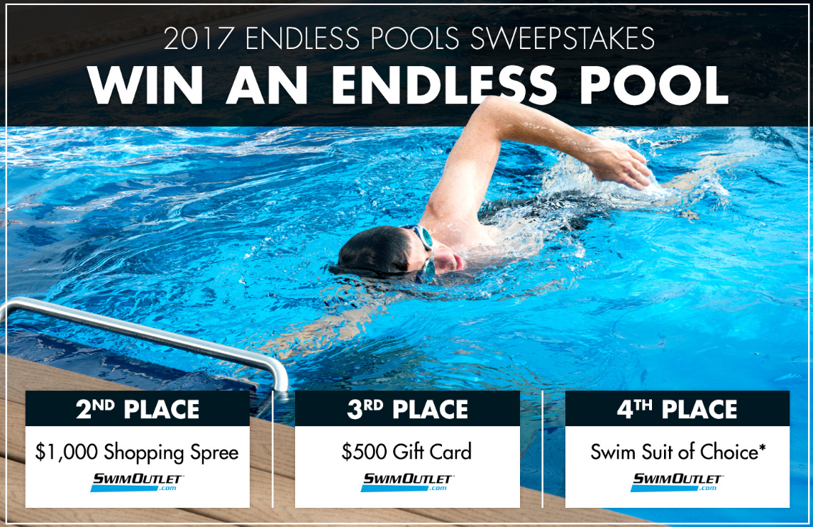 swimming pool sweepstakes win a swimming pool in the endless pools sweepstakes 11 30 5592