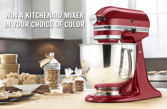 Win a KitchenAid Mixer Giveaway