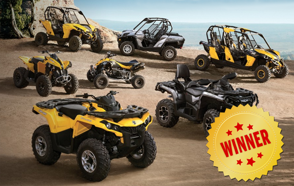 Winner Cam BRP off-road Vehicle
