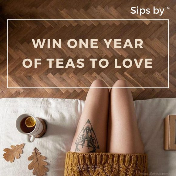 SipsBy.com Teas to Love Giveaway