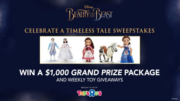 Disney's Beauty and the Beast Timeless Tale Sweepstakes