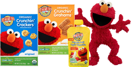 It's Elmo's birthday and Earth's Best is celebrating by giving away 25 Sesame Street prize packs, valued at $50 each! Sign up for their newsletter for your chance to win a selection of wholesome Sesame Street snacks for your little one!