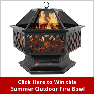 Click Here for your chance to win an Endless Summer Outdoor Fire Bowl