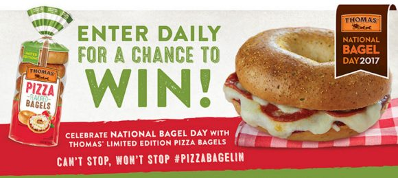 National Bagel Day Sweepstakes