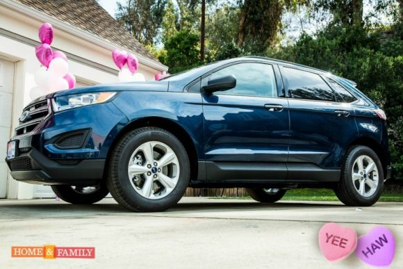 "Home & Family is giving away a 2017 Ford Edge valued at $31,500! To enter to win: Submit a :30 second video describing what ""LOVE"" means to you! Each video will be judged on talent, content, and creativity by our producers! Be sure to tune in to Home & Family weekdays at 10a/9c on Hallmark Channel!"