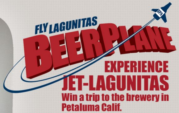 Score a Free trip to Lagunitas Brewing Company in Petaluma, California. Take in live music at the Lagu Mini Amphitheaterette. Tour the Brewery and the coast where it all began – and more! …or win 1 of 100 Standby Prizes