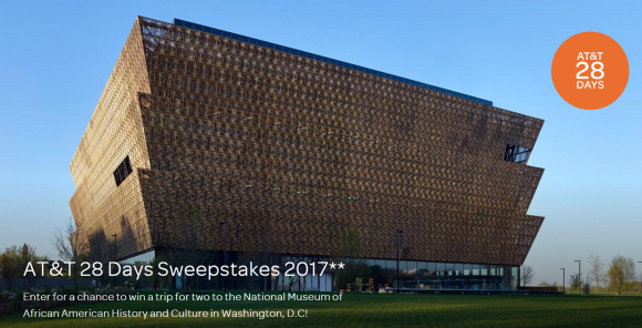 AT&T 2017 28 Days Sweepstakes