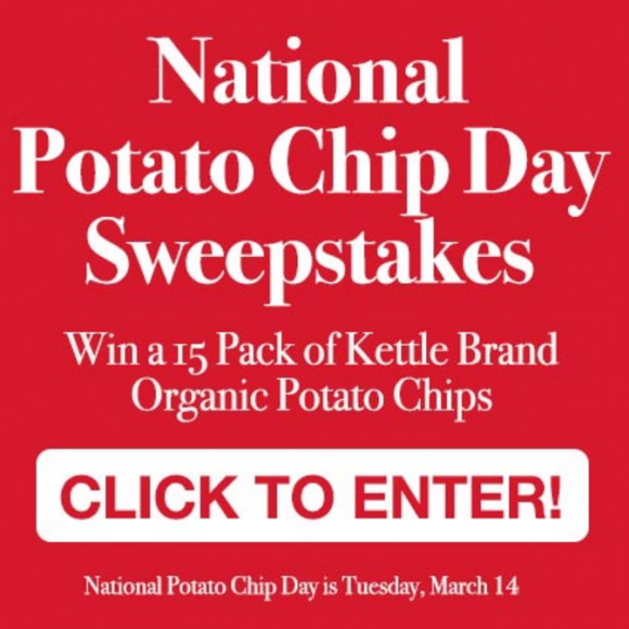 National Potato Chip Day Giveaway