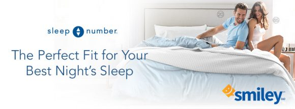 Enter for your chance to win a Queen Sleep Number p5 mattress set with Free Home Delivery, Setup & Removal in the Sleep Number The Perfect Fit Sweepstakes