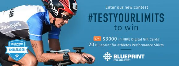 Blueprint for Athletes Test Your Limits and Win Sweepstakes