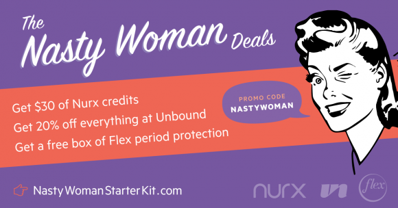 Nurx $400 in Women's Health Products Giveaway