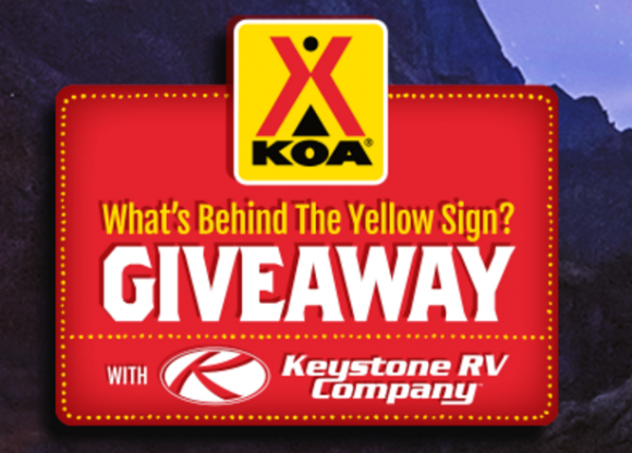 KOA is hosting their yearly RV giveaway. This year they are giving away a Keystone Outback 2017 293UBH Travel Trailer plus $1,500 in gift cards and cash. Enter each day for more chances to win.