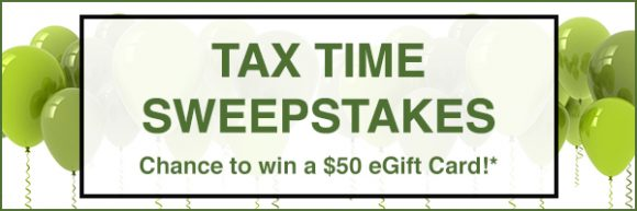 Tax time could be winning time! Chance to win a $50 eGift Card. Use PAY1040.com to pay your federal taxes. Enter daily.