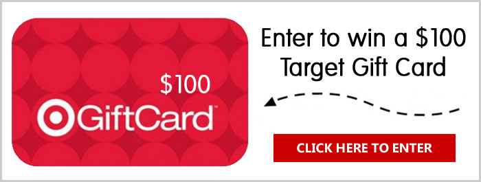Mom on a Dime is hosting another giveaway. Enter for your chance to win a $100 Target gift card.