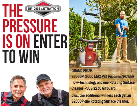 OnTheHouse.com Briggs & Stratton Pressure Washer Giveaway