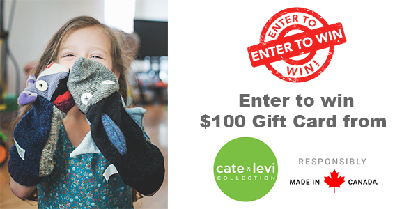 QUICK ENDING! $250 Cate & Levi Gift Card Giveaway