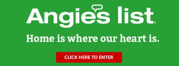 "Angie's List is giving away $500, $5000 and even $10,000 in cash in their ""Home is Where"" Sweepstakes. Enter now for your chance to win. What better way to do so than with some cash? When you use Angie's List in April and May to research a pro, search for services or look up Bluebook pricing, you'll automatically be entered"