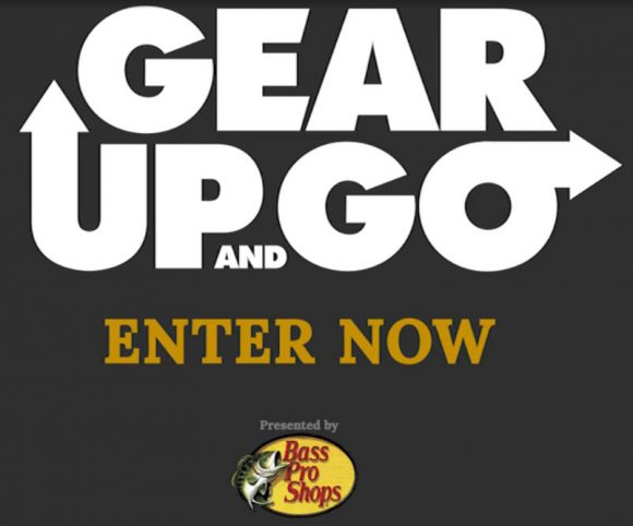 Time for Outdoor Channel's ever-popular GEAR UP AND GO Sweepstakes. Enter daily from May 1 to May 31 and you could have a chance to win great outdoor gear every day, plus the Grand Prize Experience: an unforgettable outdoor adventure for two at the luxurious Big Cedar Lodge in the Missouri Ozarks.