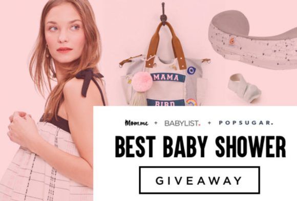 One grand prize winner will take home a baby shower prize package worth almost $5,000 from BabyList.com, Mom.me, and PopSugar.