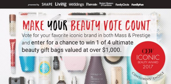 Consumer's Choice Vote For Beauty Sweepstakes