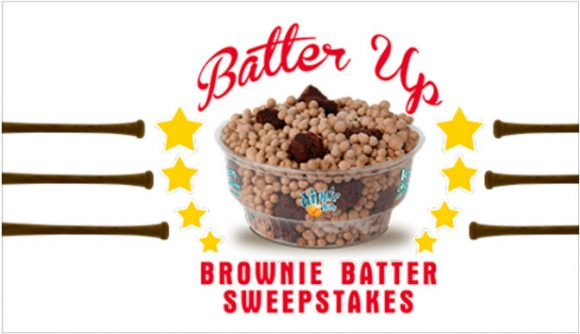 Dippin Dots Batter Up Sweepstakes