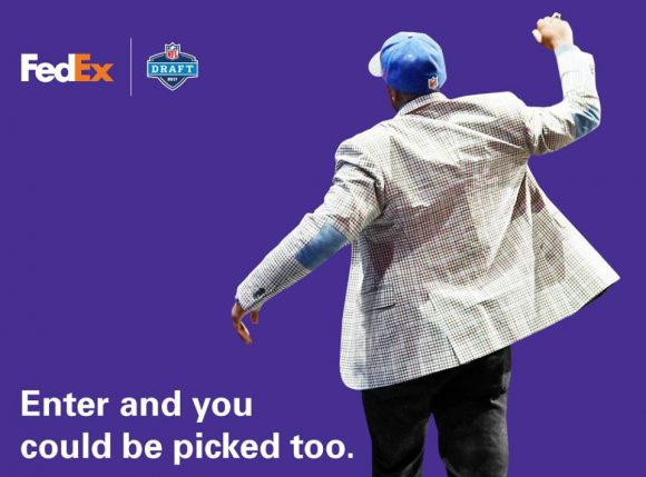 nfl draft sweepstakes quick ending fedex air ground nfl players of the draft 3056