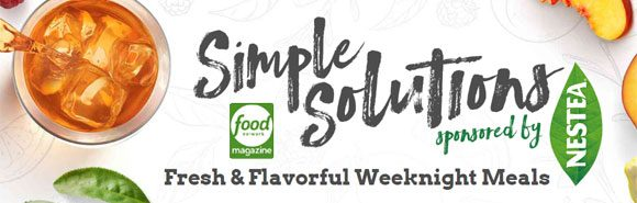 Food Network Magazine Simple Solutions Sweepstakes